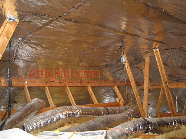 radiant barrier attic