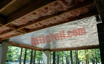 crawlspace radiant barrier foil 1
