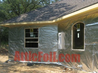 AtticFoil House Wrap Radiant Barrier Product Page Pic