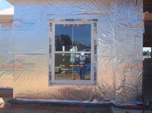 House Wrap AtticFoil pics - Lake Willis TX install 310x233 1