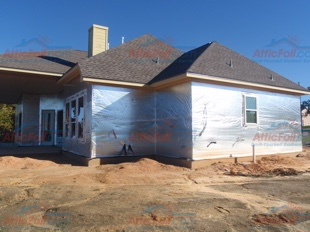 House Wrap AtticFoil pics - Lake Willis TX install 310x233 3