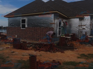 House Wrap AtticFoil pics - Lake Willis TX install 310x233 4