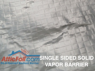 AtticFoil Single Sided Solid Vapor Barrier
