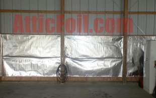 atticfoil install metal building 2010