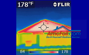 charcol roof thermal imaging