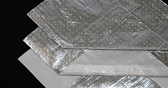 Solid vapor barrier foil