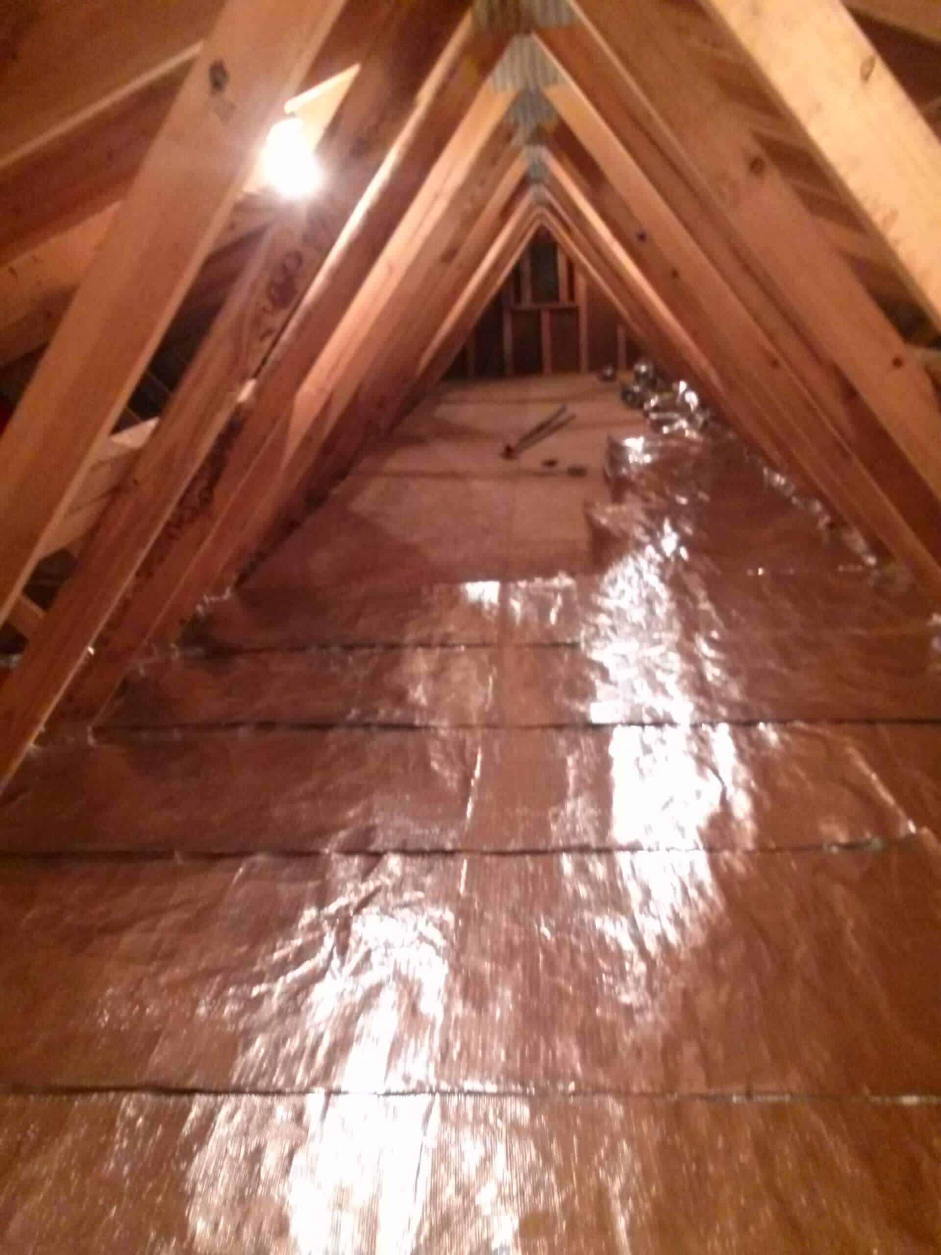 Gallery Over Insulation Installs Atticfoil 174 Radiant