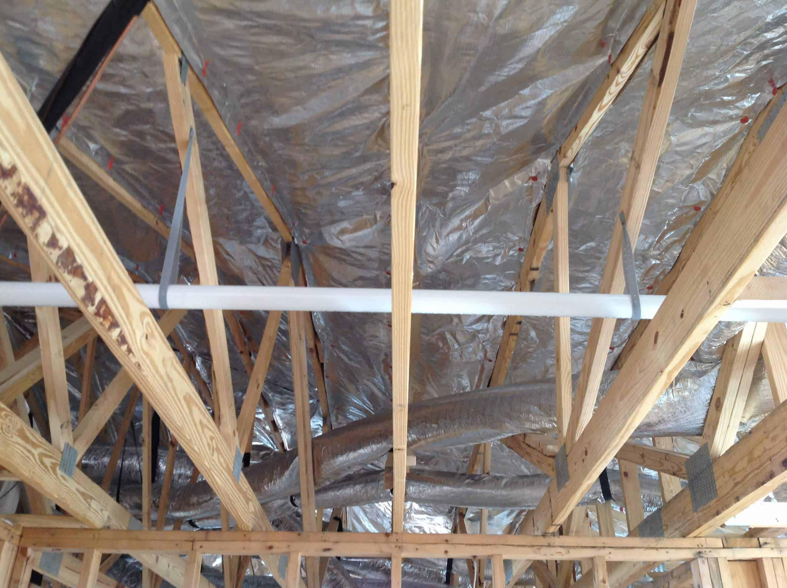 Gallery Truss Attic Installs Atticfoil 174 Radiant Barrier
