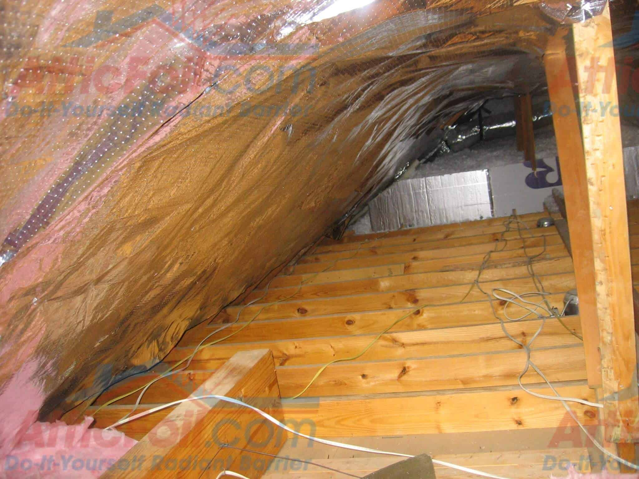 Gallery Staple Up Installs Atticfoil 174 Radiant Barrier