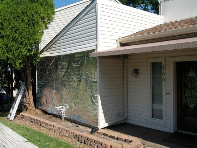 House Wrap Behind Siding Atticfoil Radiant Barrier Do It Yourself Professional Grade