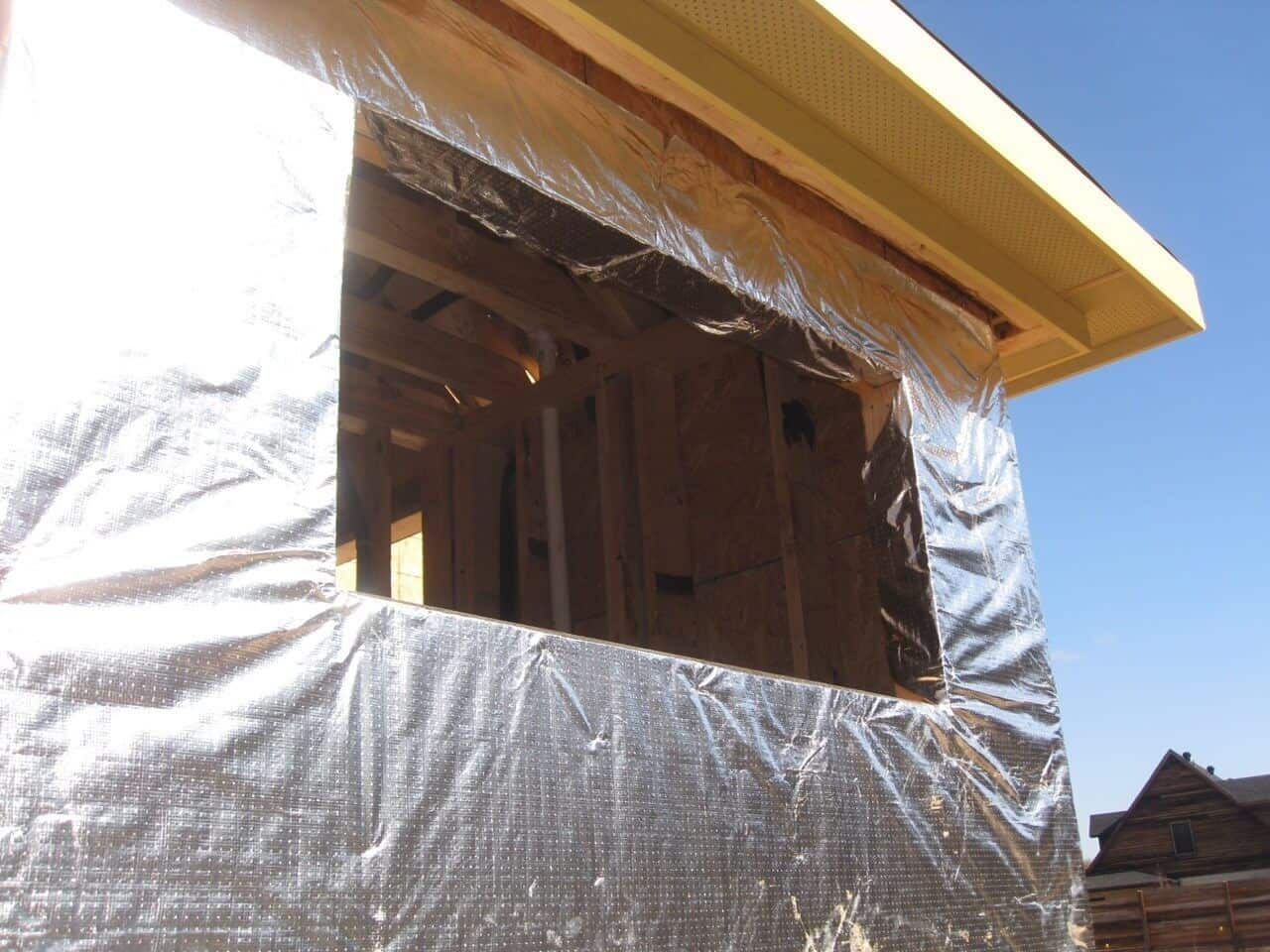 Gallery House Wrap Installs Atticfoil 174 Radiant Barrier