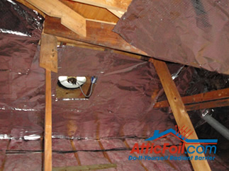 Radiant Barrier and attic fans